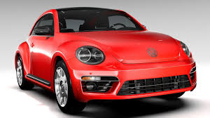 volkswagen vw beetle vw beetle turbo 2017 3d cgtrader