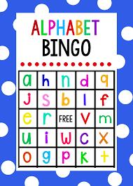 Free Halloween Bingo Cards Printable Lowercase Alphabet Bingo Game Crazy Little Projects