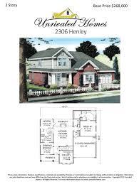 Henley Floor Plans Floor Plans Unrivaled Homes