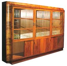 Rosewood Display Cabinet Singapore 1408 Art Deco Book Case Display Cabinet With Exotic Brazilian