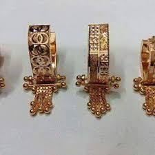 bengali earrings gold buttal designs 916 jewellery earings
