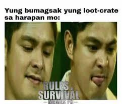 Ph Memes - talap talap nmn par c neil ian rules of survival memes ph