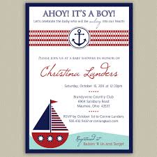 baby shower nautical theme invitations theruntime com