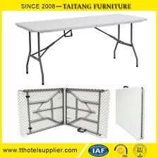 6 ft adjustable height table chinese factory 6ft adjustable height molded plastic top foldable