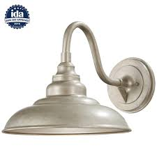 home decorators collection 1 light champagne silver outdoor wall