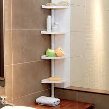 Corner Shelves Bathroom 4 Tiers Bathroom Toilet Corner Shelf With Adjustable Height Buy