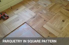 parquet floor fitting herringbone floor layers