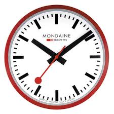 Wall Clock Contemporary Designer Clocks Newgate Mondaine Leff Jacob