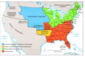 1850 United States Map by Sectionalism U0026 The Causes Of The Civil War Mr O U0027mara U0027s American