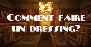 comment faire une chambre minecraft chambre faire un dressing comment faire un dressing dans minecraft