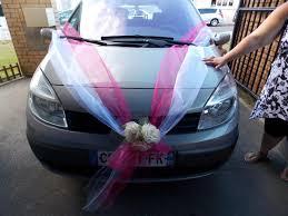 deco mariage voiture décoration de voiture de mariage autoclean à marck