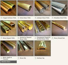 Brass Handrails Brass Tubing Copper Tubing Fittings B U0026 L Brassworks Inc