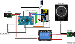 how to doorbell automation hack mysensors forum