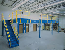 Clerespan Mezzanine Systems Elevated Work Platforms From Steel King