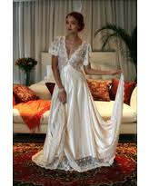 honeymoon sleepwear winter deals on bridal nightgown embroidered lace halter backless