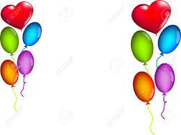 palloncini clipart sfondo bianco con palloncini colorati royalty free cliparts