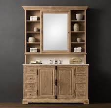 Recessed Bathroom Vanity by Ana White Build A Vanity Hutch With Recessed Lights Free And