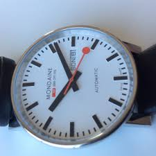 watch review mondaine automatic sbb cff ffs railroad watch evo