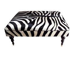 Zebra Side Table 53 Best Ottoman Images On Pinterest Ottomans Zebra Print And Zebras