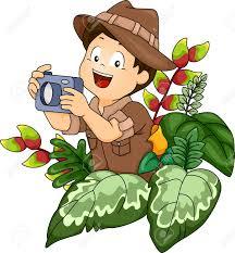 safari jeep clipart illustration of a little boy in a safari holding a camera