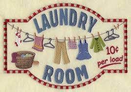 Laundry Room Border - machine embroidery designs at embroidery library embroidery library