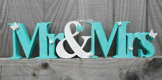 mr and mrs sign for wedding mr and mrs sign top table sign wooden mr and mrs letters