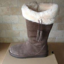 womens ugg plumdale boots ugg sheepskin cuff ebay