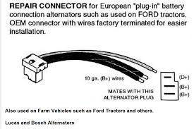 wiring diagrams delco remy 10si alternator wiring one wire