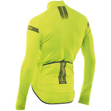 yellow cycling jacket northwave extreme h20 light total protection long sleeve bike