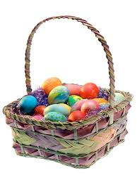 easter basket easter baskets go metallic hgtv