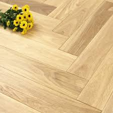 100mm uv engineered white wash oak parquet block wood