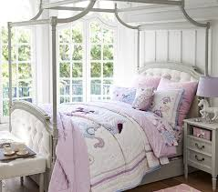 blythe tufted canopy bed pottery barn kids