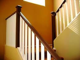 modern stair railings house exterior and interior the man