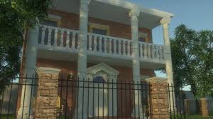 sketchup house tutorial colonial style home youtube
