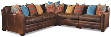 Huntington Bedroom Furniture by Huntington House 7164 4 Seater Sectional With Track Arms And Block