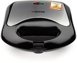 buy nova vsm nsm 2409 750 watt 2 slice sandwich maker black with