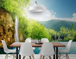 plitvice lakes wall mural by eazywallz gadget flow plitvice lakes wall mural by eazywallz