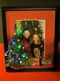 light up picture frame with cricut cuts withglitteringeyes