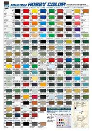 mr hobby hobby colour chart h numbers veteranus