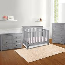 Graco Convertible Crib Bed Rail by Graco Cribs Hayden 3 Piece Nursery Set 4 In 1 Convertible Crib