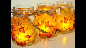 Halloween Jars Crafts by Awesome Craft Decorations Ideas For Fall Youtube