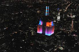 don u0027t miss the empire state building u0027s first ever led christmas