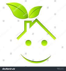 eco friendly house vector illustration stock vector 132568637