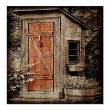 Bathroom Outhouse Decor Outhouse Indoor And Outdoor Door Cover Baby Shower Ideas