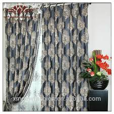burnout pattern and string curtain floral grayson gromment window