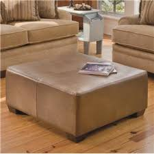 Square Ottomans Square Ottoman With Block Wood By Smith Brothers Wolf And