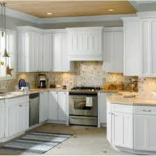 Rustic White Cabinets Kitchen Outstanding Rug Image Of Rustic White Kitchen Beautiful