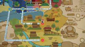 Paper Mario World Map by Grind Proliferation Kind Of Ruined Paper Mario Color Splash For