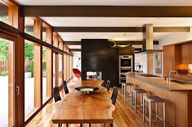 Butterfly Kitchen Decor Dinning Rooms Elegant Kitchen Decor With Small Live Edge Dining