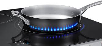 Cooker For Induction Cooktop Fake Led Flames Indicate How Samsung U0027s New Induction Stove Gets